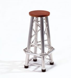 Truss bar chair 4-leg