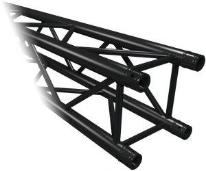 Truss vierkant 50 cm zwart