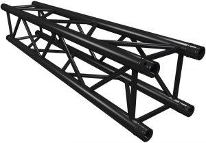 Truss vierkant 150 cm zwart