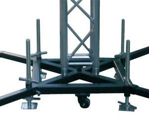 Global Truss Base Staal