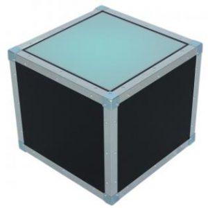 Flightcase tafelblok met plexiglas 115667