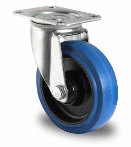 Blue Wheel zwenkwiel 100mm